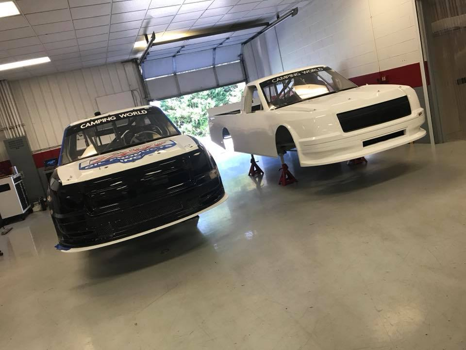 Jordan Anderson - Niece Motorsports shop