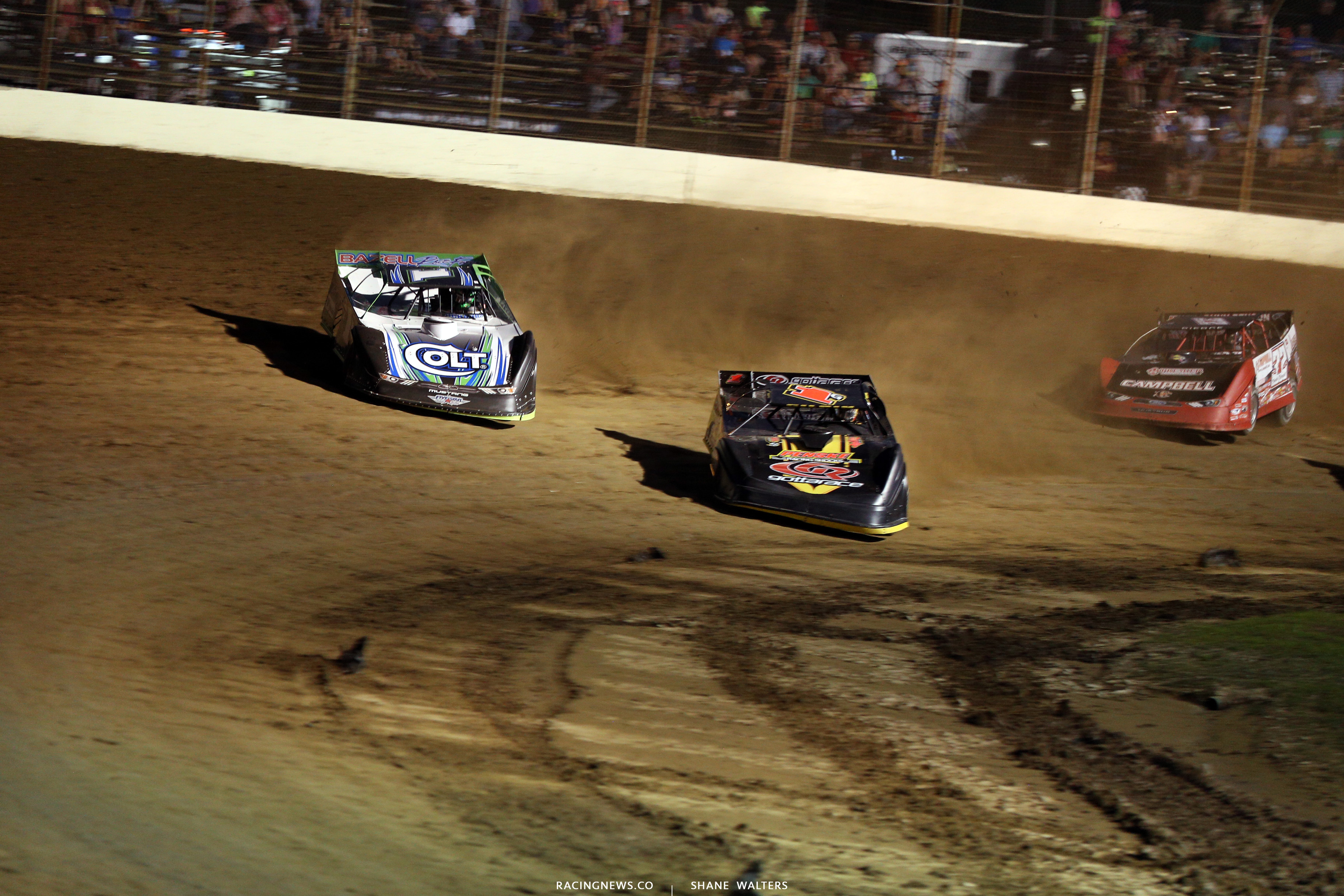 Josh Richards and Devin Gilpin at Portsmouth Raceway Park 9896