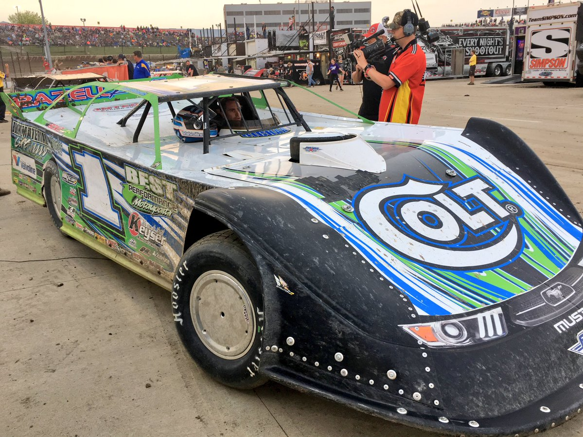 Josh Richards at Eldora Speedway