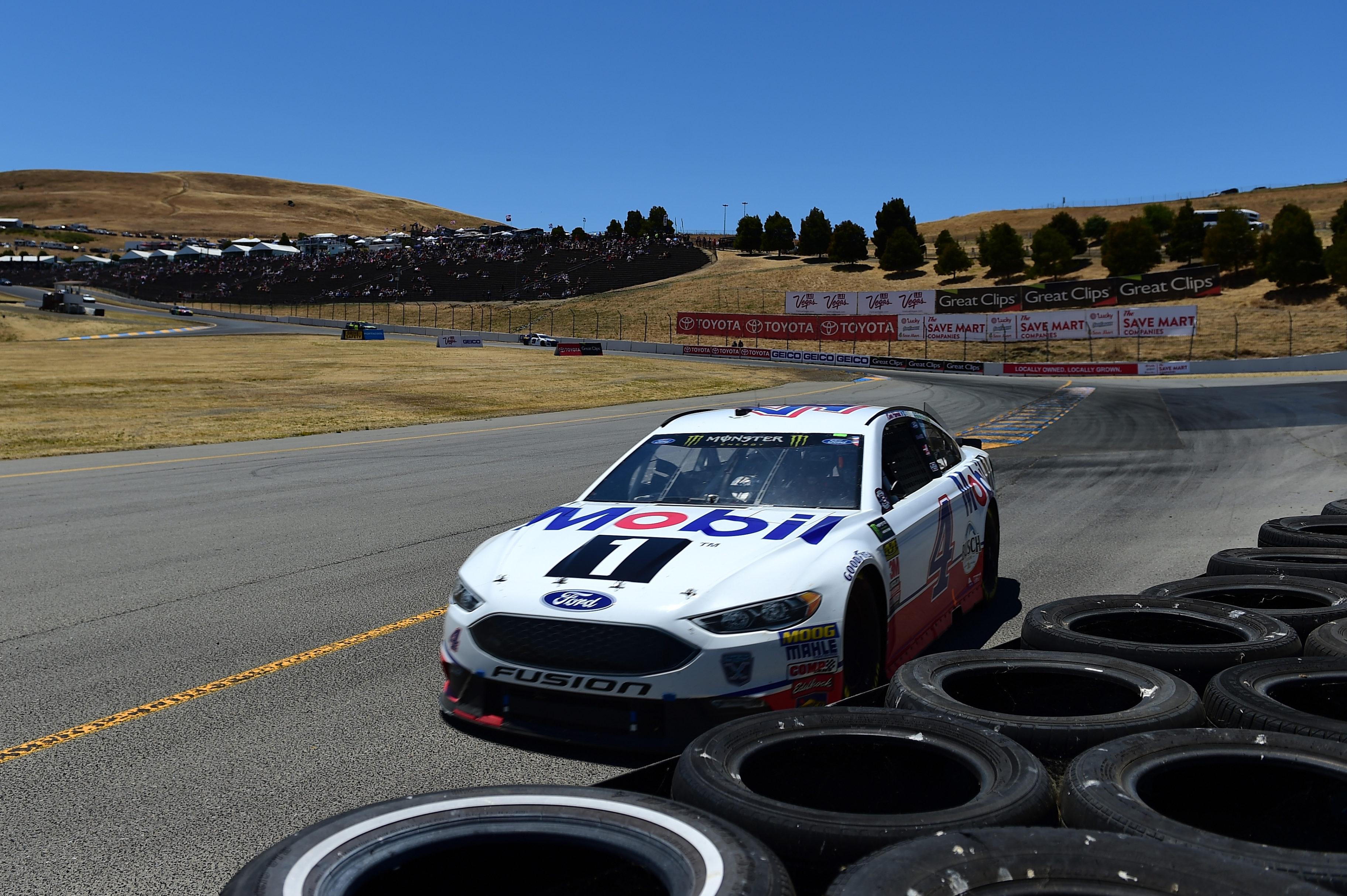 Kevin Harvick at Sonoma Raceway
