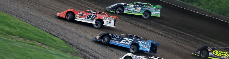 Lucas Oil Dirt Series officials were tipped off that a team might be using a Kevlar tire insert