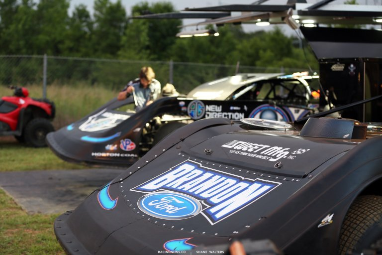 Kyle Bronson and Scott Bloomquist