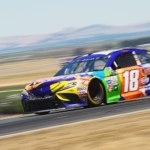 Kyle Busch at Sonoma Raceway