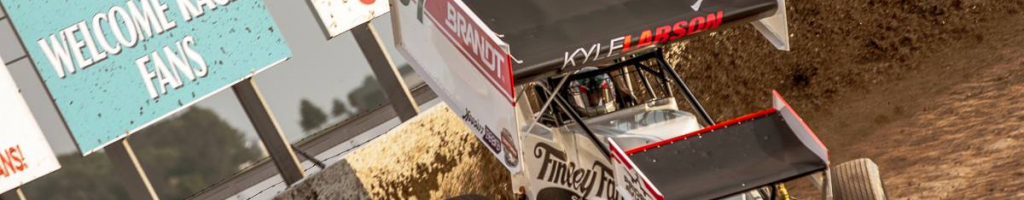 Kyle Larson details his thoughts on running with the World of Outlaws