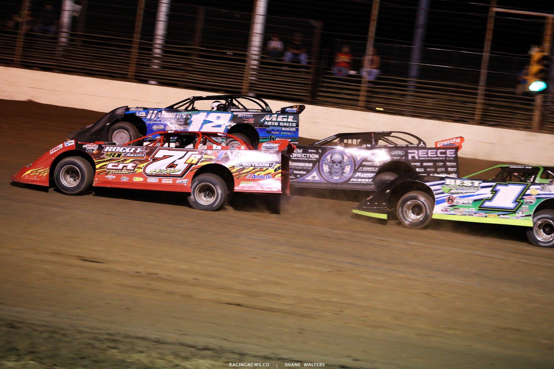Lucas Oil Late Model Dirt Series at Portsmouth Raceway Park 0040
