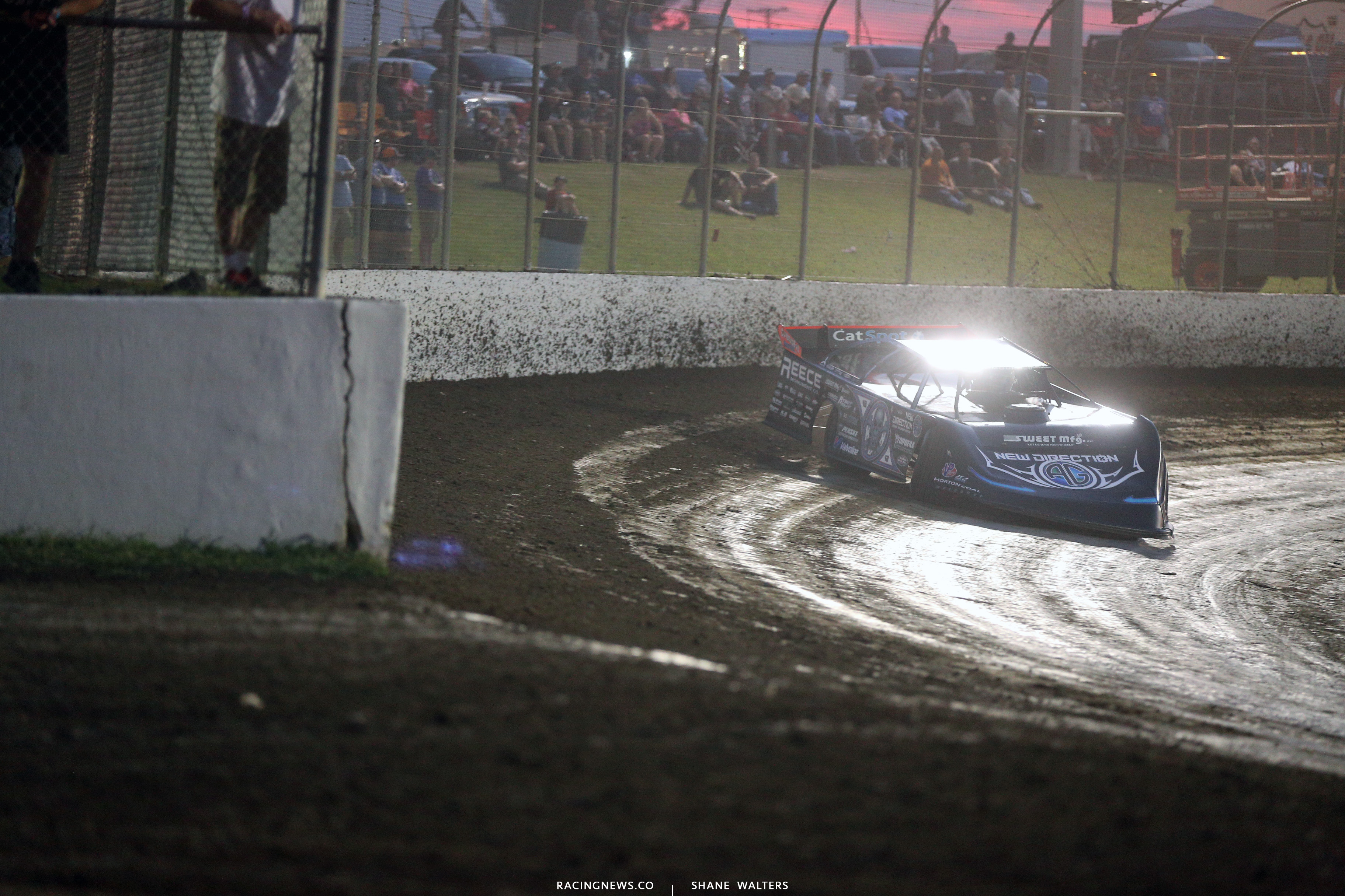 Magnolia Motor Speedway pit gate opening