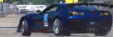 Indycar pace car crash (Video)