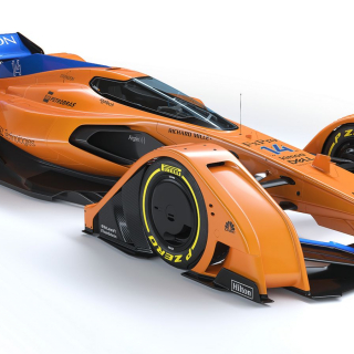 McLAREN Prototype photos