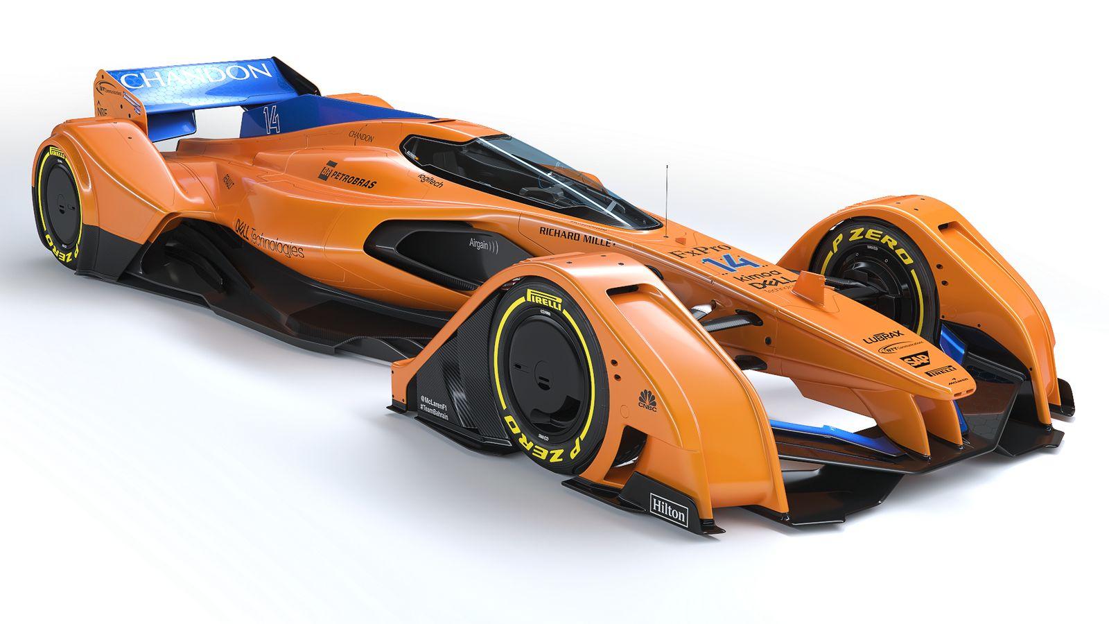 mclaren x2 2018 concept f1 car racing news