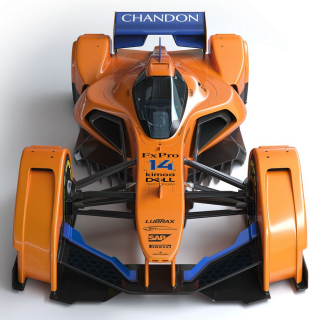 McLAREN X2 F1 car photos