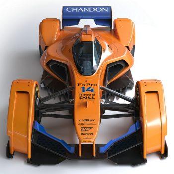 McLAREN X2 F1 car photos