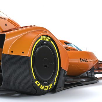 McLAREN X2 Prototype F1 car photos