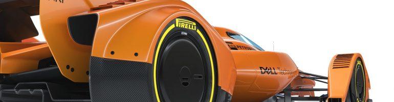 McLAREN X2: 2018 Concept F1 Car