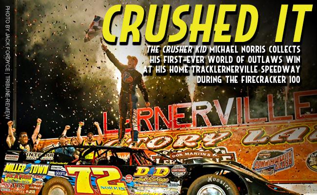 Mike Norris - Lernerville Speedway