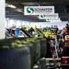 NASCAR Truck Series garage area at Gateway Motorsports Park