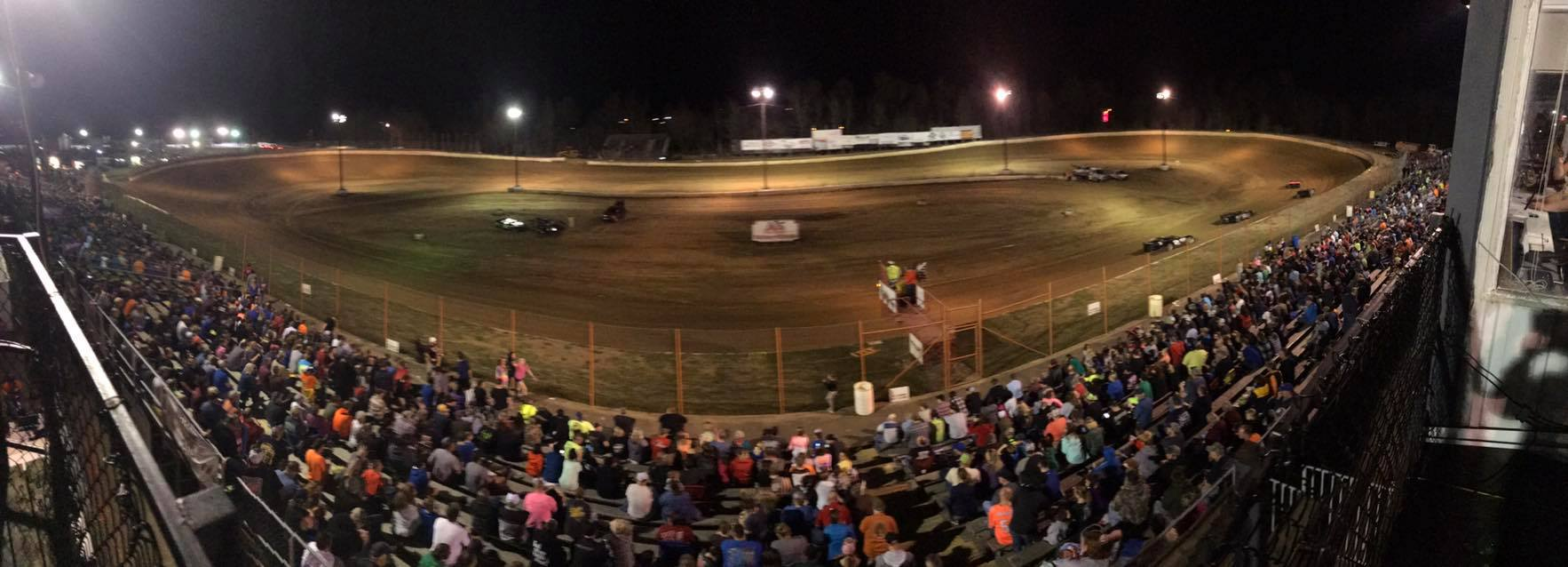 Paducah International Raceway - Grandstands April 13