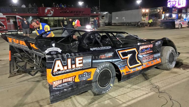 Ricky Weiss at Eldora Speedway