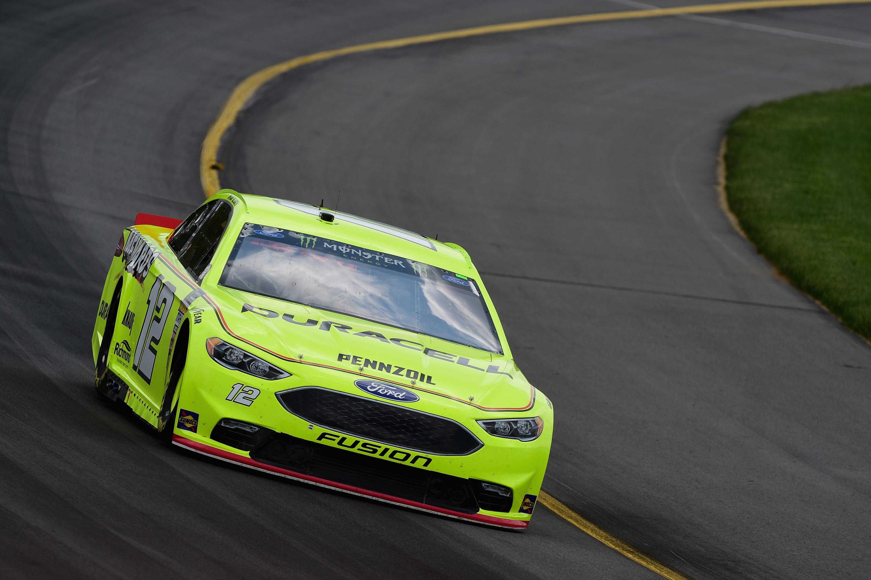 Ryan Blaney at Pocono Raceway