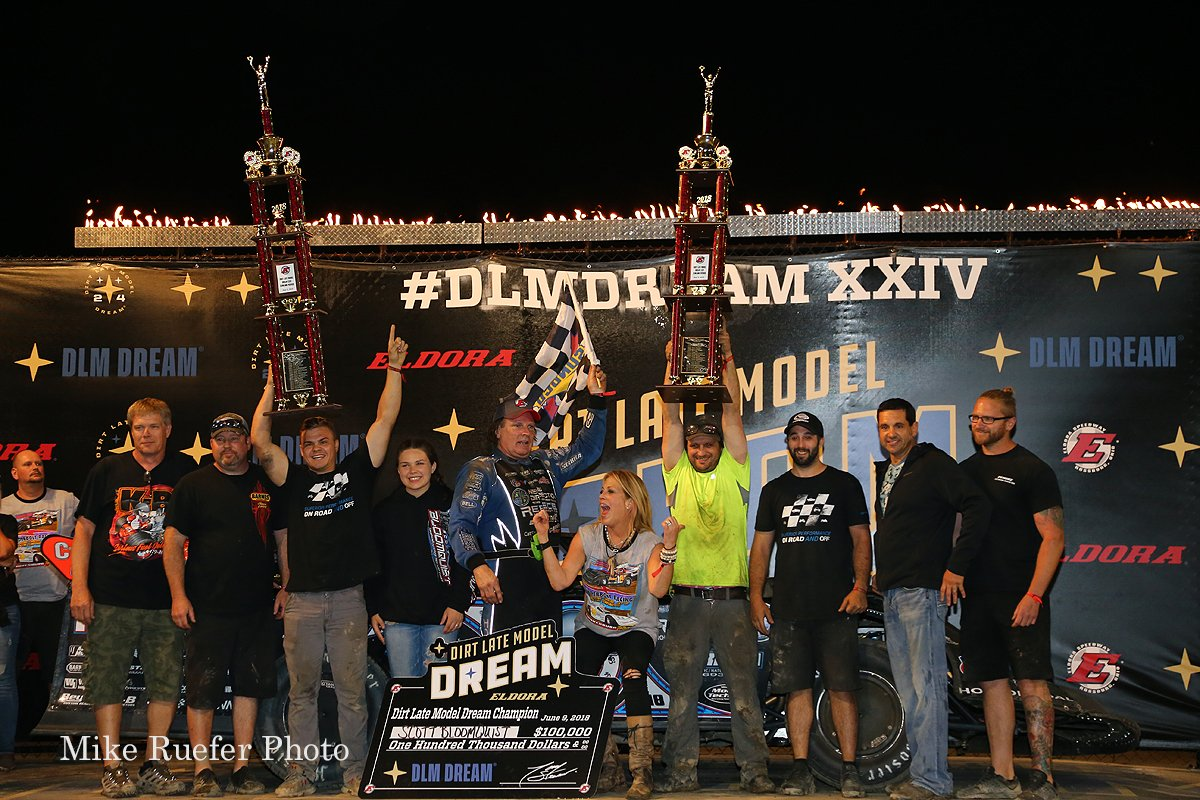 Scott Bloomquist - 2018 Dirt Late Model Dream Winner