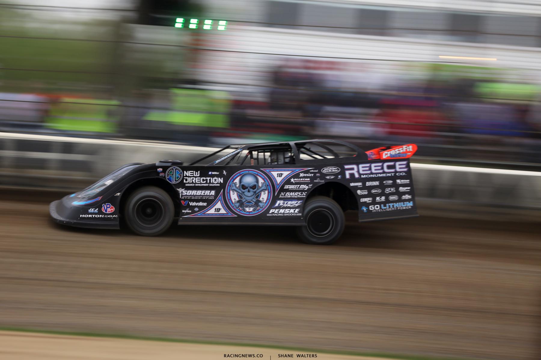 Scott Bloomquist at Deer Creek Speedway