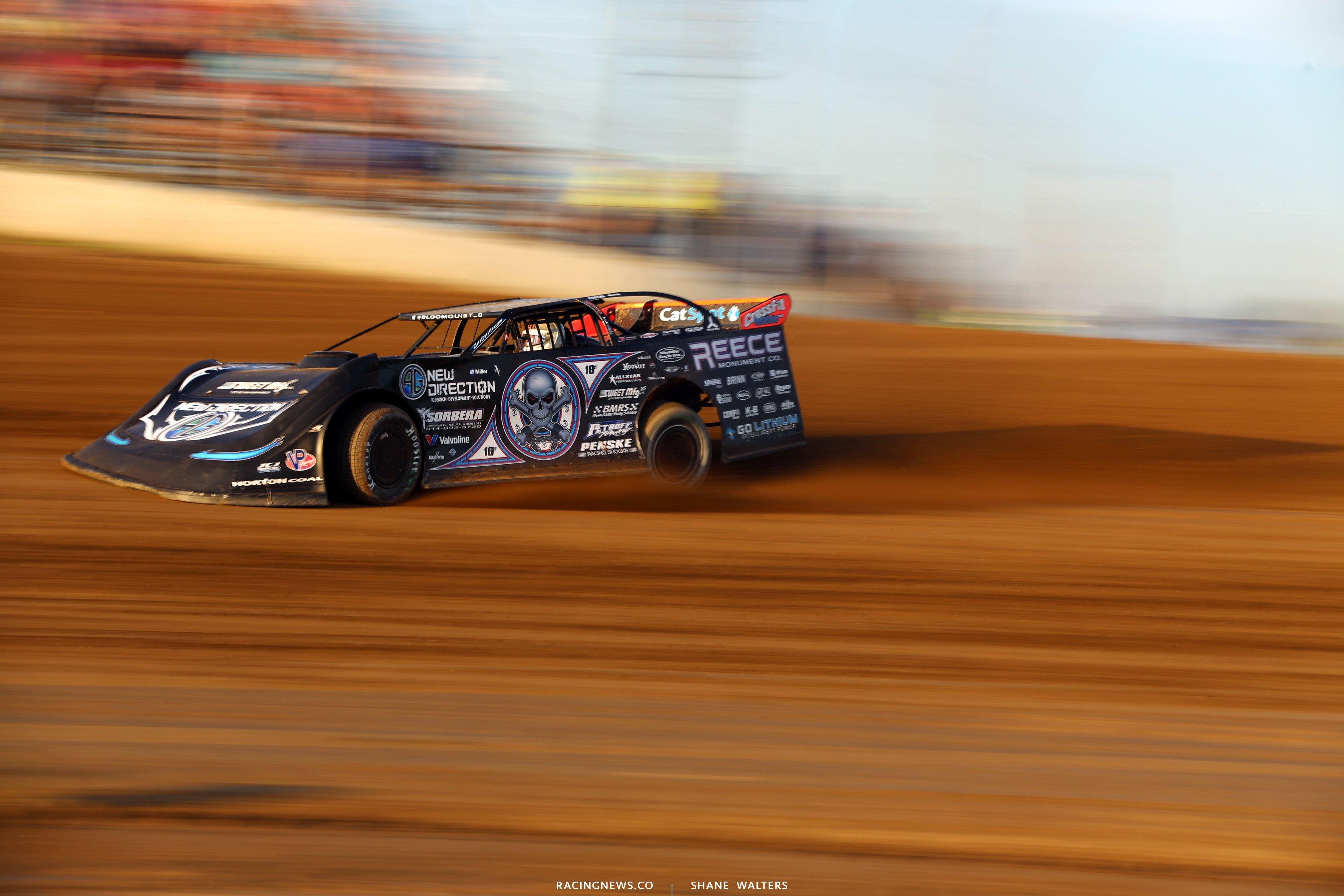 Scott Bloomquist at Portsmouth Raceway Park 9836