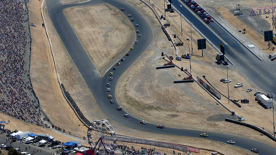What are the Las Vegas odds for the NASCAR race at Sonoma?