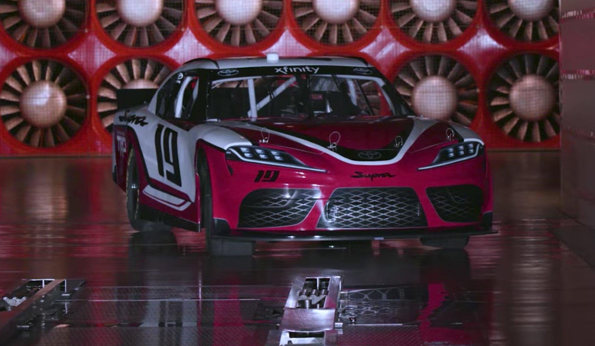 2019 Toyota Supra - NASCAR Racecar