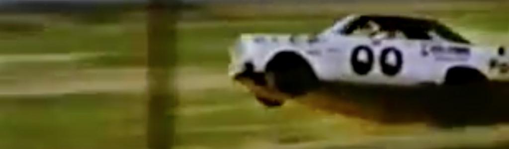Cole Custer's throwback scheme honors AJ Foyt; Original car lost brakes, went airborne (VIDEO)
