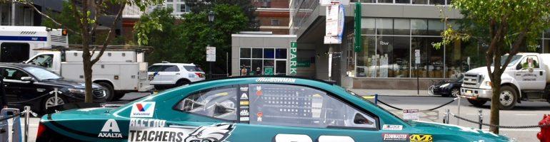 Alex Bowman to run Philadelphia Eagles paint scheme today at Pocono Raceway