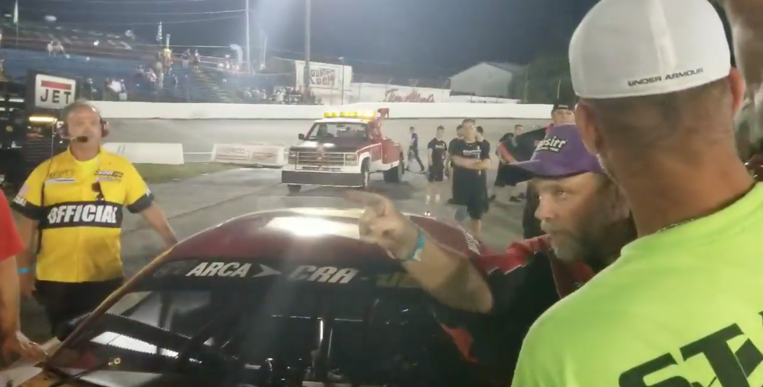 Anderson Speedway altercation