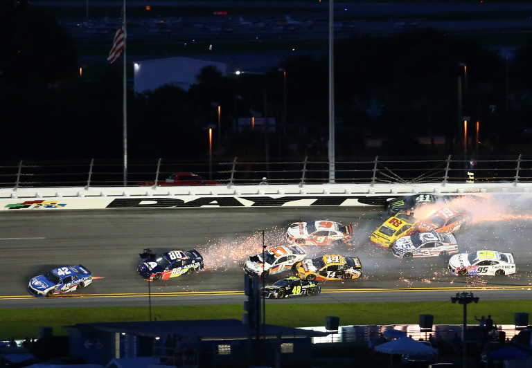 Big one at Daytona International Speedway