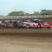 Bobby Pierce, Ricky Weiss and Josh Richards at Brown County Speedway 3062