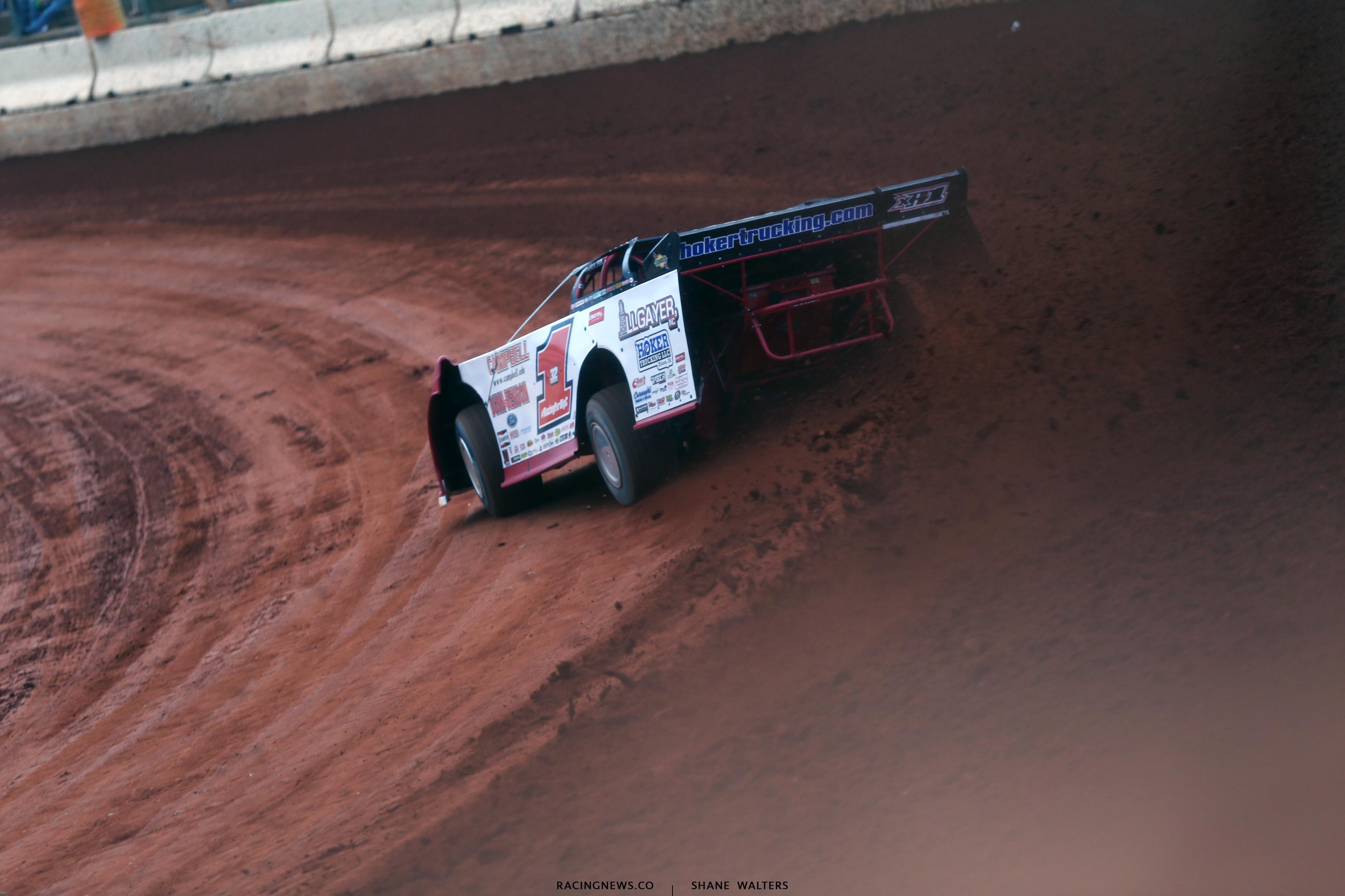 Bobby Pierce at Cherokee Speedway 1994