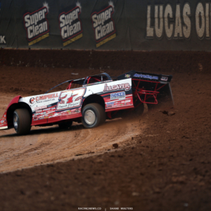 Bobby Pierce at Lucas Oil Speedway