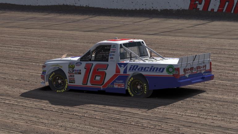 Brett Moffitt - iRacing NASCAR Truck - Eldora Speedway