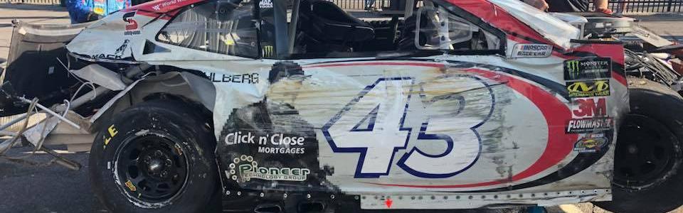 NASCAR reacts to the Bubba Wallace crash