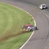 Bubba Wallace crash at Pocono Raceway