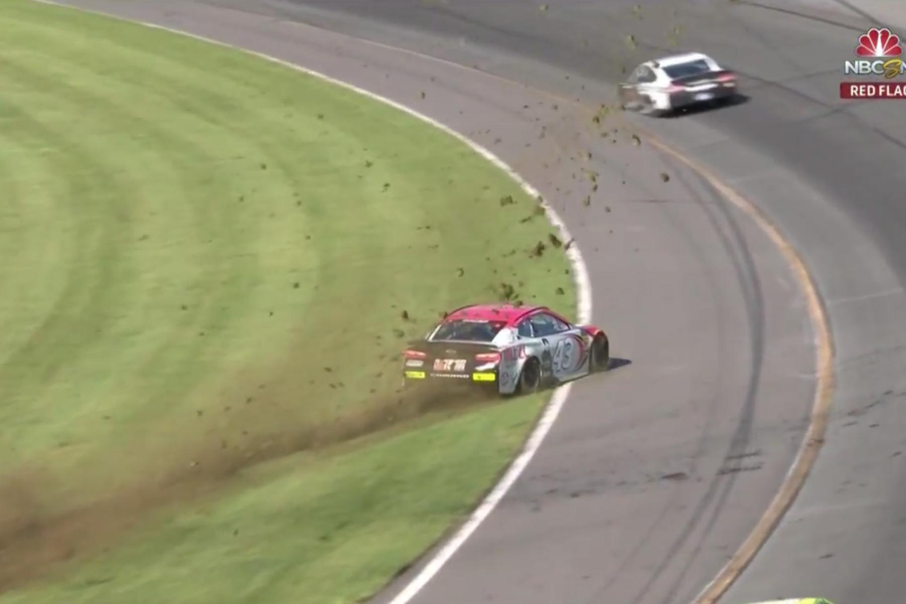 Scary crash for Bubba Wallace at Pocono Raceway (Video) - Racing News