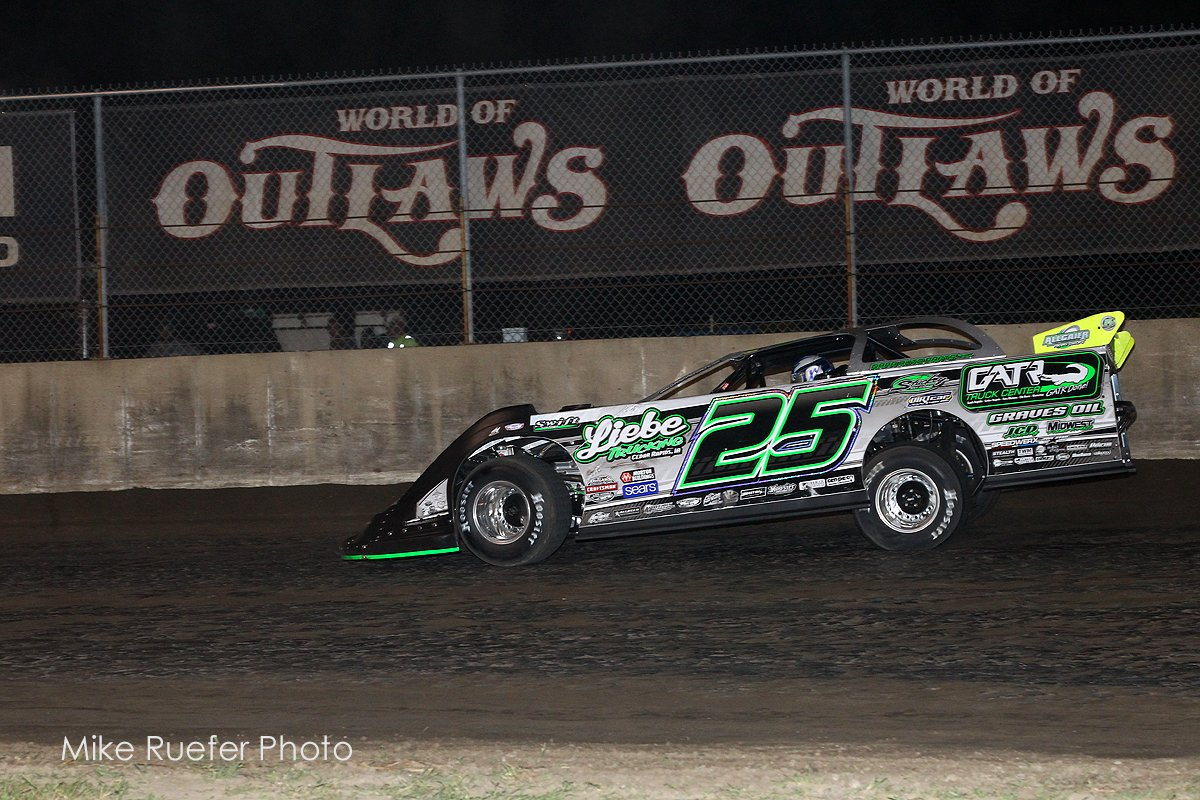 Chad Simpson - First World of Outlaws win
