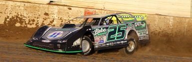 Chad Simspon wins first career World of Outlaws Late Model Series event