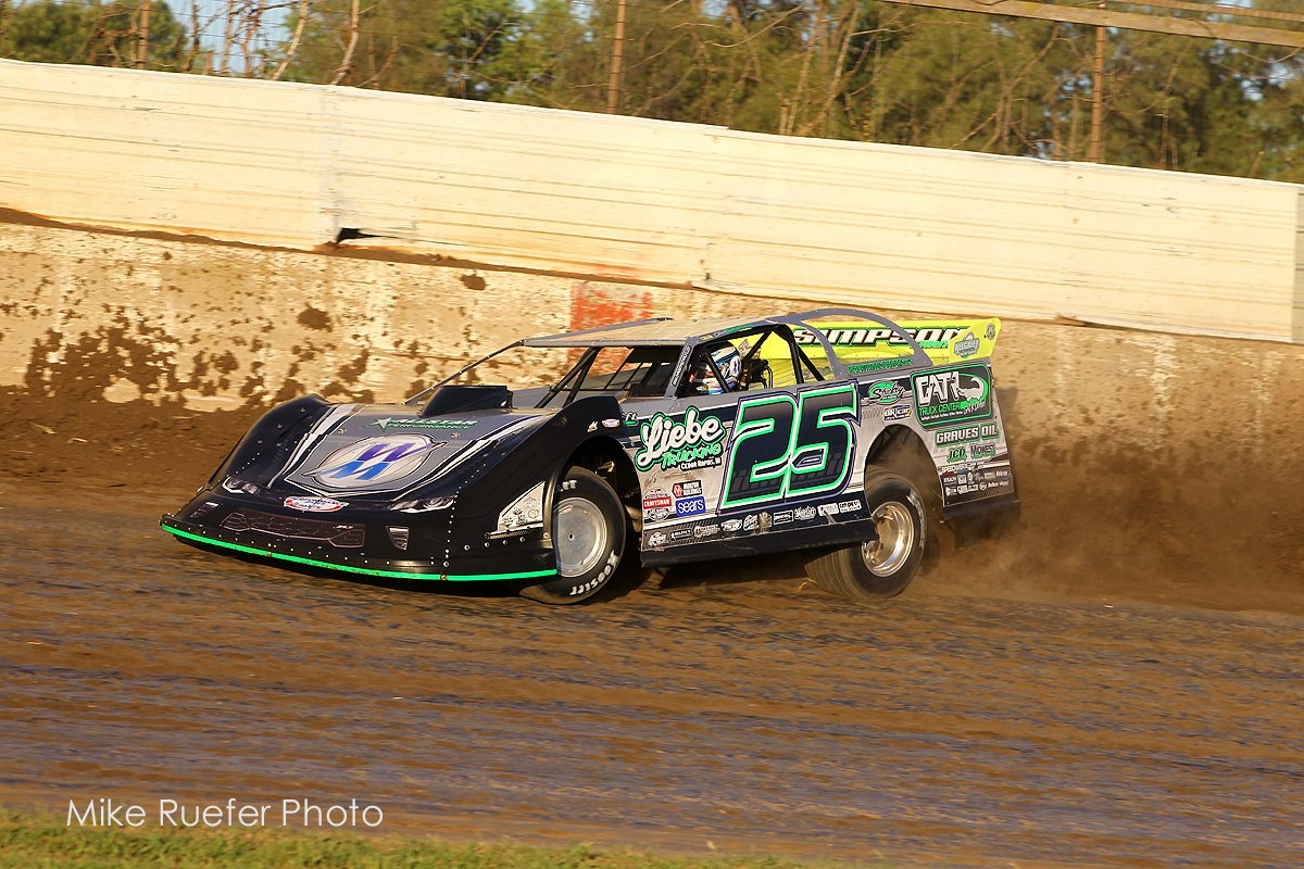 Chad Simpson at Davenport Speedway