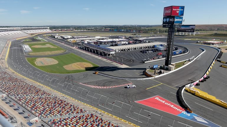 Charlotte Motor Speedway - Roval Layout