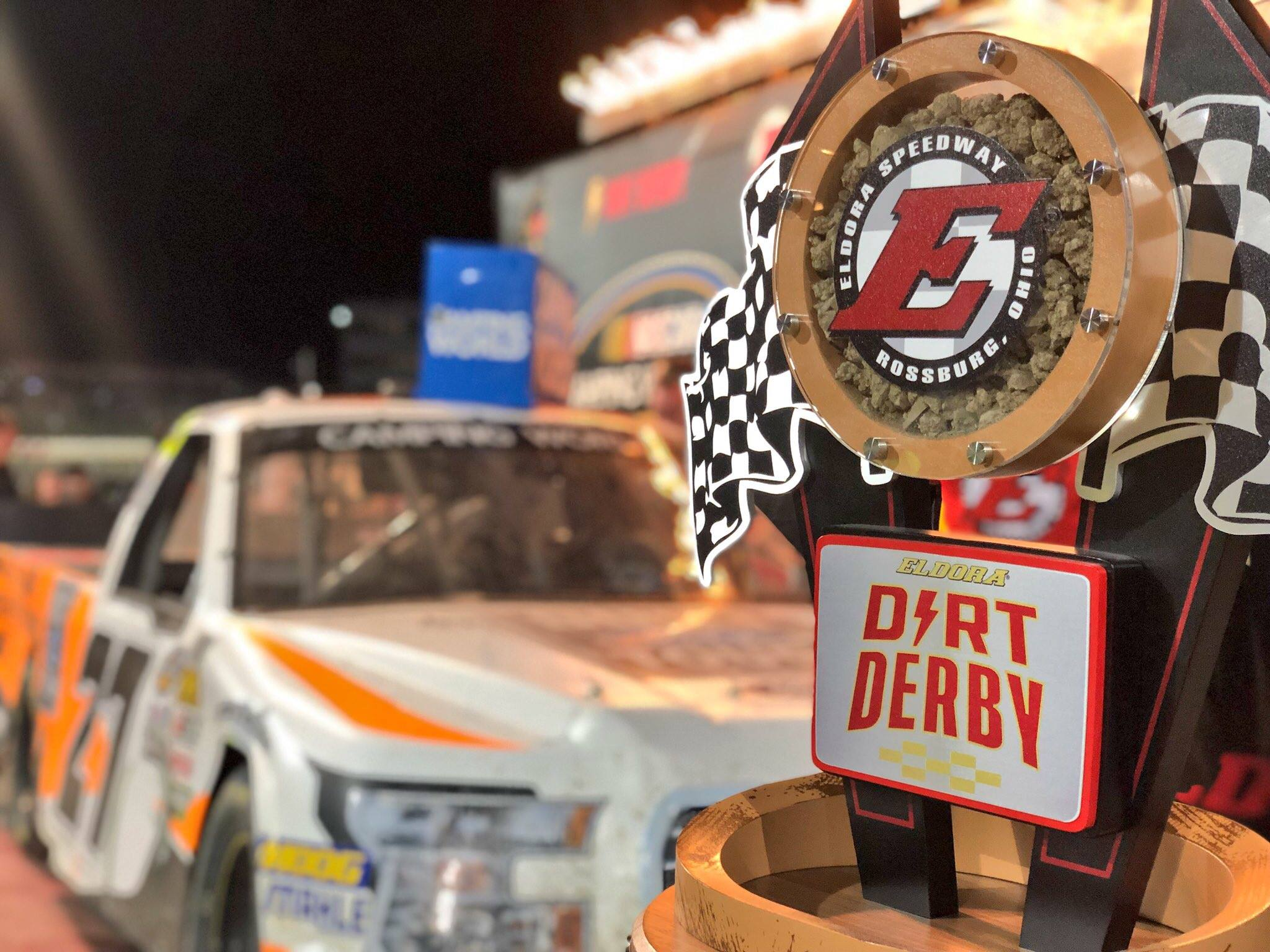 Chase Briscoe wins the Eldora Dirt Derby