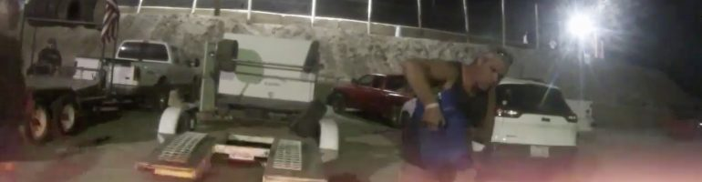 Crew mistakes a fuel jug for a water jug; Ignites the race car (Video)