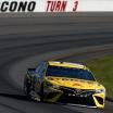 Daniel Suarez at Pocono Raceway