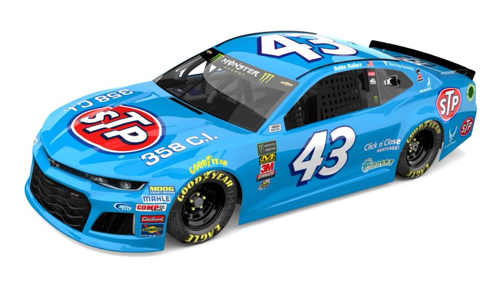 Darrell Wallace Jr - 2018 throwback paint scheme