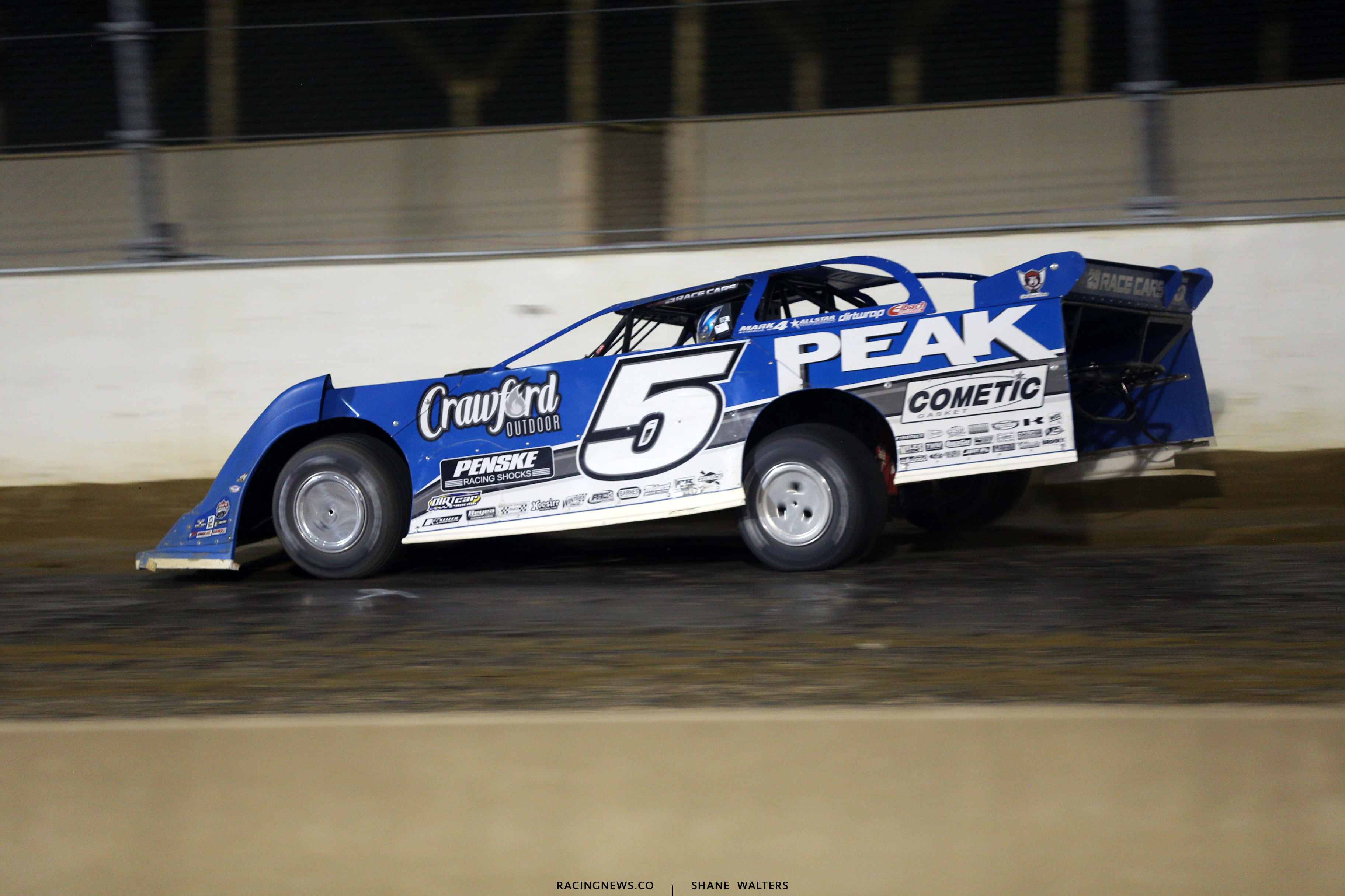 Don O'Neal at Mansfield Motor Speedway 0952