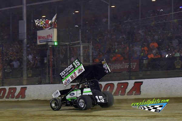 Donny Schatz wins the 2018-Kings Royal at Eldora Speedway