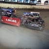 Earl Pearson Jr and Scott Bloomquist at Tri-City Speedway 2390