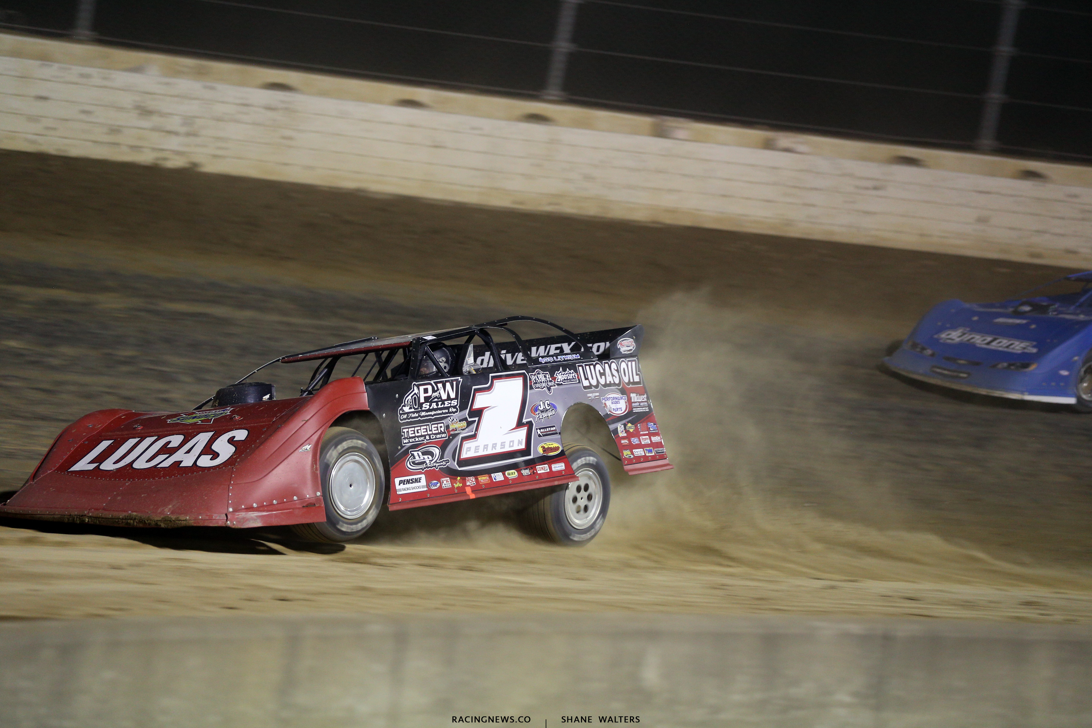 Earl Pearson Jr at Mansfield Motor Speedway 0884